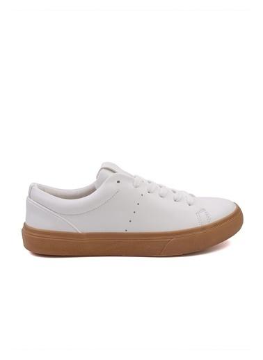 Letoon 3537 Erkek Spor Ayakkabı - Beyaz Beyaz